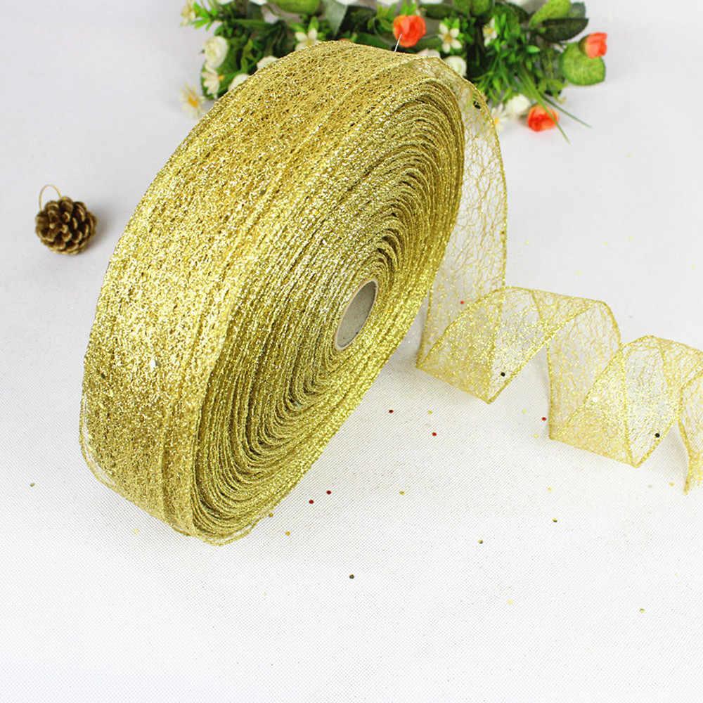 2 M Natal Pesta Bubuk Bronzing Perada Xmas Pohon Ornamen Pesta Gantung Dekorasi Rumah Baru Tahun Dropshipping/D
