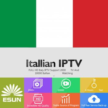 ItalyTV X96 Android 7.1 amlogic S905W 1G/8G With 1 Year IPTV Configured Italy/Europe/Sweden IPTV Smart TV Box  Set top box