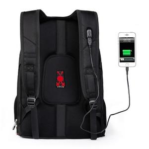 "Image 5 - מותג שוויצרי מחשב נייד 15.6 ""תרמיל חיצוני USB תשלום שוויצרי תרמילי מחשב נגד גניבת תרמיל עמיד למים שקיות לגברים נשים"