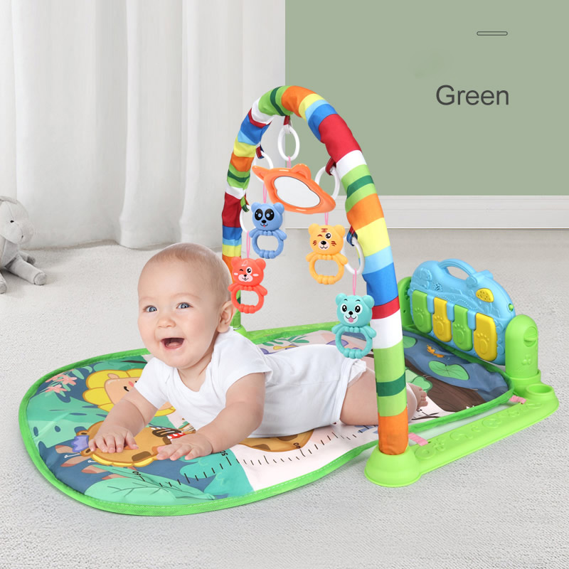 Hipac Baby Bed Bell Musical Pedal Piano High Elastic Bracket 0 12 Months Baby Newborn Infant Toys for Kids Gifts for Children|Baby Rattles & Mobiles| - AliExpress