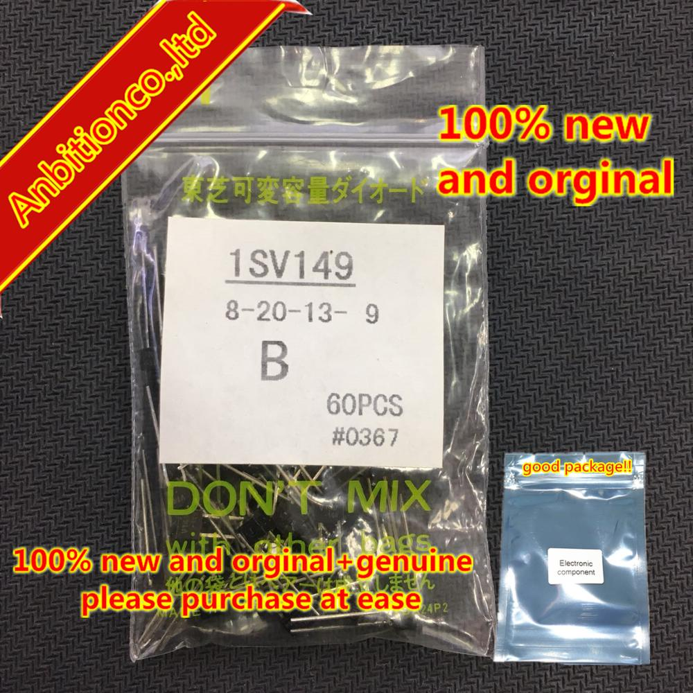 10pcs  100% New And Orginal 1SV149-B V149 TO-92S In Stock