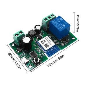 Image 3 - Tuya WiFi commutateur sans fil Module de relais unidirectionnel entrée synchronisation APP télécommande commande vocale pour Google Home et Amazon Alexa