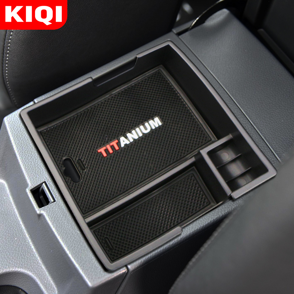 Car Armrest Storage Box for Ford Everest 2015 2016 2017 2018 2019 Accessories Auto Central Console Box|Stowing Tidying|   - title=