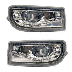 Image 1 - A pair Modified front fog lamp For Toyota Land Cruiser Fj100 Front Bumper lamp Daytime Running Light With Lens