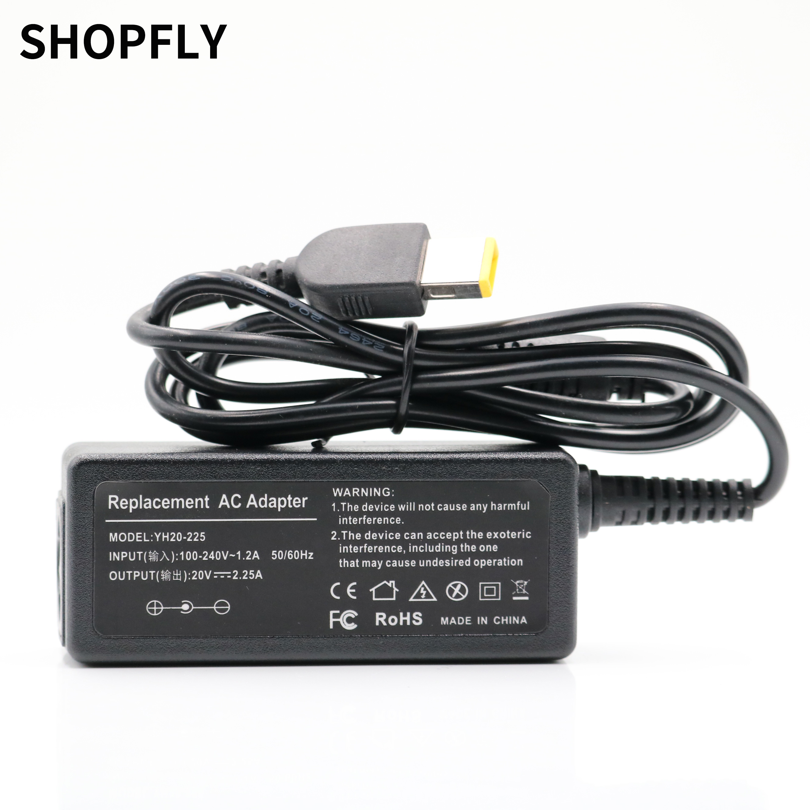 45W Laptop Ac Power Adapter Charger For Lenovo Yoga 2 11 11S S1 K2450 T431S X230 X240 X240S 20V 2.25A Notebook Charger