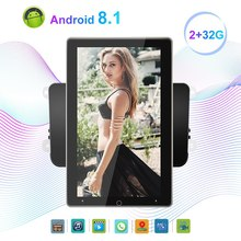 2 Din Android 8.1 10.1Inch Car Multimedia Player Electric Rotation Screen GPS 4G WIFI 2G+32G for GOLF PASSAT Altea(China)