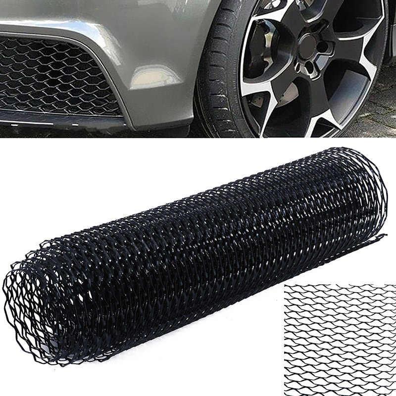 aleaci/ón de aluminio de 3x6 mm Rejilla de coche Malla Hoja Rejilla Cuerpo Parachoques Parrilla r/ómbica Universal Malla de rejilla de coche