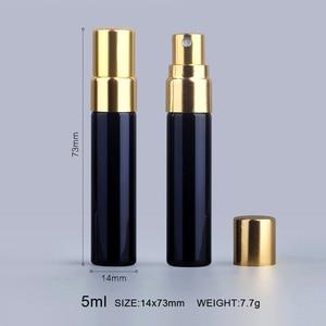 Image 4 - 100ชิ้น/ล็อต5Mlขวดน้ำหอมAtomizerกล่องบรรจุภัณฑ์และขวดน้ำหอมแก้วLOGO