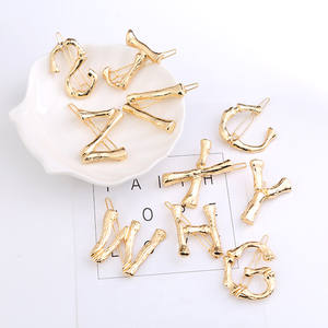 Hair-Clip Letter-Style Female Girl's Fashion Gold Product 1PC Sweet Cute