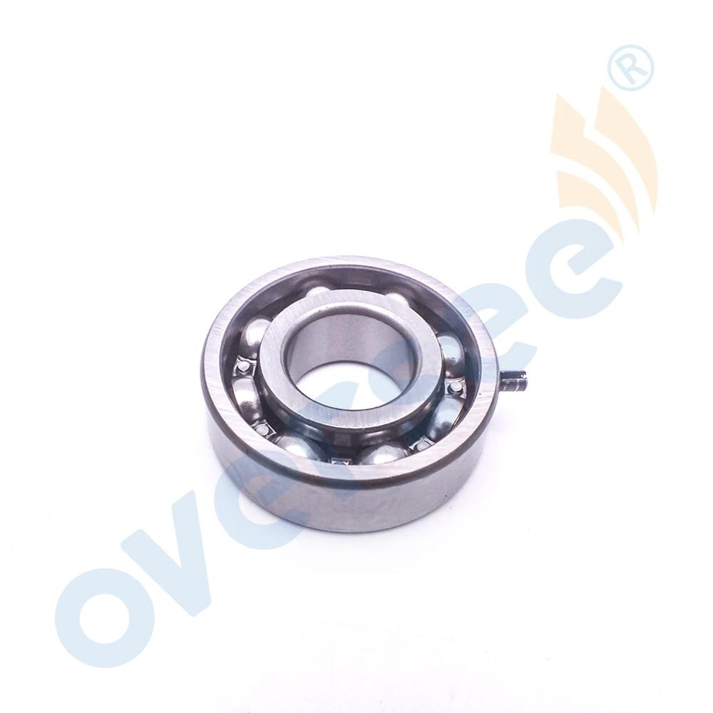 OVERSEE 93306-204U0 Ball Bearing With Pin For Yamaha 4HP 5HP 6HP 8HP Outboard Motor