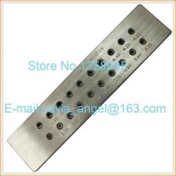Halfround Shape Tungsten Carbide Drawplates Wire Drawplate   jewelry diy making Tools Hole Size 5.10-7.00mm 3.10-5.00mm 20 Holes free shipping 20 holes tungsten carbide drawplates hole size 3 10 5 00mm triangle shape draw plate jewelery tools