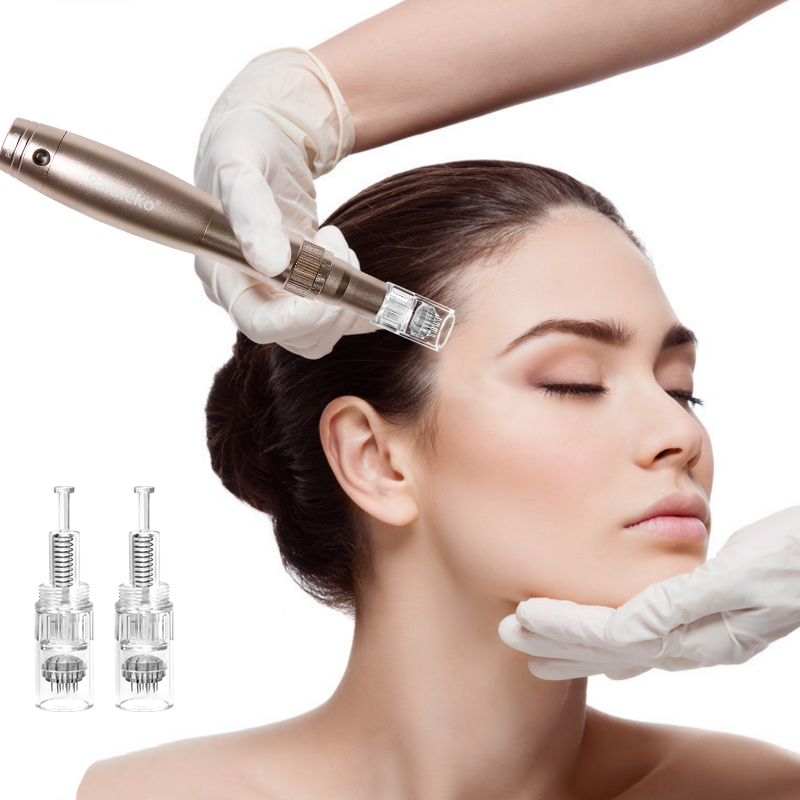 Clearance SaleDerma-Tools Microneedling-Pen Electric-Derma Ultima Auto Screw Shrink-Pores Exfoliate