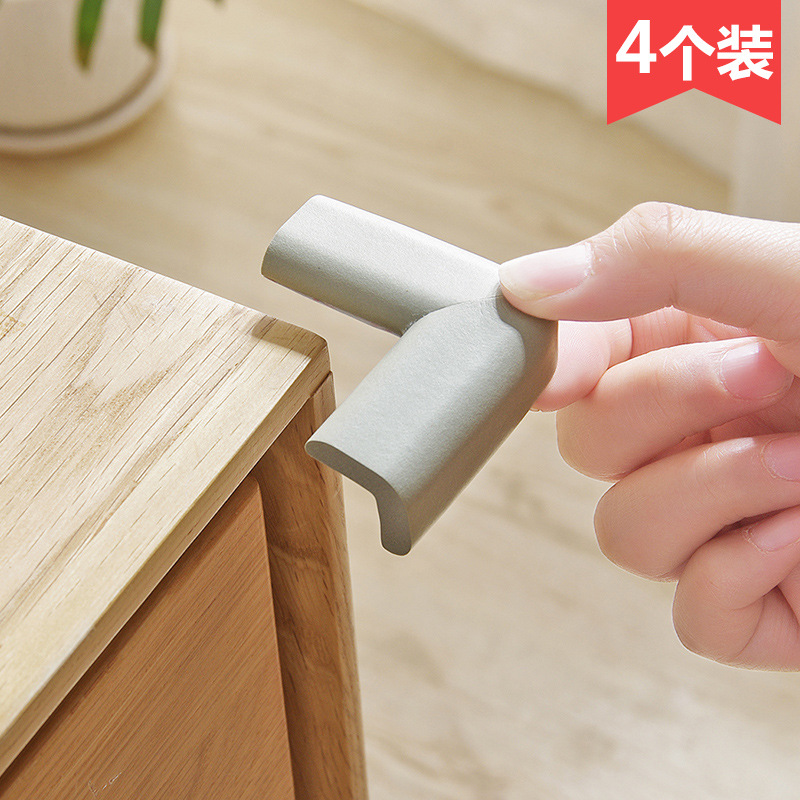 Anti-Collision Baby Bumper Teapoy Table Furniture Corner Protector Cornerite Corner Protector Anti-Bump Corner Protector Protect