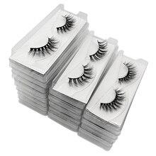 Mink Eyelashes Set Bulk Lashes Fluffy  Wholesale Eyelashes Package Dramatic Fake Eyelashes Natural 3d Mink Lashes Pack