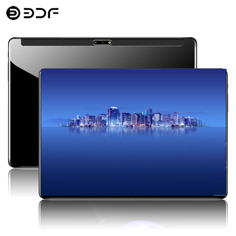 """10.1"""" Tablet PC 2.5D Tempered Glass Android 9.0 4G Phone Call 1920*1200 IPS Ten Core 8GB/128GB 8.0 MP WiFi Support Tablet PC"""