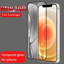 10d полное покрытие закаленное стекло для iphone 6 6s 7 8 plus