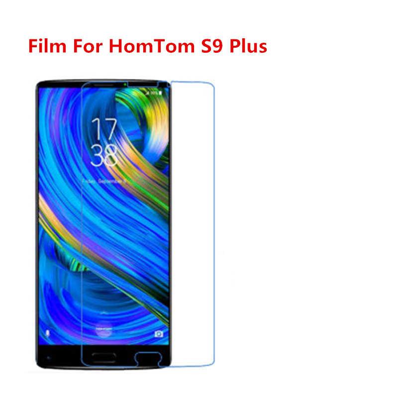 1/2/5/10 Pcs Ultra Thin Klar HD LCD Screen Protector Film Mit Reinigungs Tuch Film Für HomTom s9 Plus.