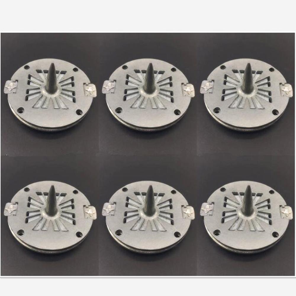 6PCS Pure Aluminum Wire Replacement Diaphragm For Jbl 2408H-2 Speaker Horn Driver PRX725 PRX735 8 Ohm