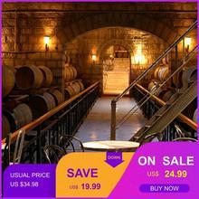 Фото обои Европейское вино обои винный погреб КТВ Бар Ресторан промышленность гостиная зал украшение пивная чашка Обои фреска