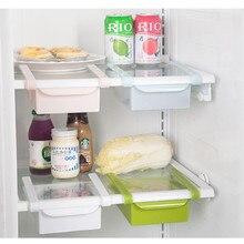 Refrigerator Storage Box Food Container Fresh Spacer Layer Storage Rack Pull-out Drawer Sort Organizer Kitchen Accessories недорого
