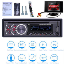 1 Display + Car CD DVD VCD Player Bluetooth 4.0 Handsfree FM Radio Video Output Music DVD Player /USB/AUX/TF LCD Auto Multimedia