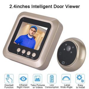 Image 4 - 2.4inches 1080P Intelligent Electric Door Bell Wireless Digital Peephole Security Door Viewer Doorbell Camera