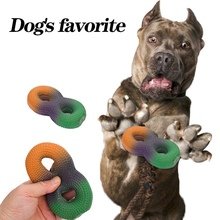 1Pcs Pet Dog Latex Nibbling Bite Vocal Toy Molar Teeth Cleaning Teeth Character Shape Funny Toys For Dog Cat Pet Toy Supplies new funny sounding toy hand pinch toy pet toys sound dog toys molar bite resin simulation plastic beer bottles