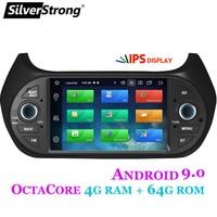 SilverStrong Car Multimedia player GPS Android9.0 Car Radio 1Din DVD 4G For FIAT/Fiorino/Qubo/Citroen/Nemo/Peugeot/Bipper 2G16G