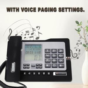 Image 2 - G026 prosty telefon stacjonarny stacjonarny telefon stacjonarny do domowego biura na biurko