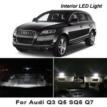 Perfect Canbus Error Free Interior LED Bulb Dome Map Indoor Reading Light Kit For Audi Q3 Q5 SQ5 Q7