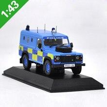 1:43 defesa polícia suv liga diecast carro, modelo, brinquedos, modelo de metal, caixa original de veículos