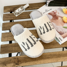 Autumn Winter Women Slippers Bottom Soft Home Shoes Cotton Men Slippers Indoor Slip-On Slides Women Comfortable Shoes For Couple home floor cute couple cotton slippers winter love indoor slippers heart soft bottom keep warm cotton mop wear comfortable