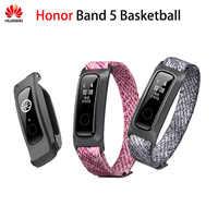 Originale Huawei Honor Fascia 5 Basket Ver Banda Intelligente Corsa e Jogging Postura Monitor 2 Indossa Modalità di Acqua-Resistente 50 Metro 5ATM