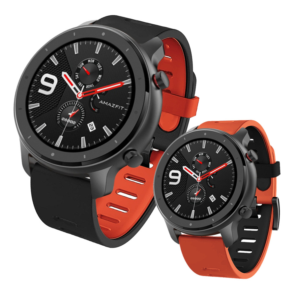 For Xiaomi Amazfit GTR 47mm / Amazfit Stratos 2 / 2S / 3 Smart Watch Band For Huami Pace / Stratos 22mm Wrist Strap Bracelet