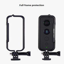 Action Camera Protection Frame For Insta360 One X GoPro Interface With Lens Protection Cover Rabbit Cage Frame Accessories