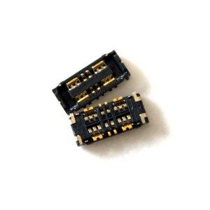 Image 1 - 10 ピース/ロットインナー FPC コネクタバッテリーホルダークリップ接触 mortherboard 上 ASUS Zenfone 5 4 最大 ZC554KL