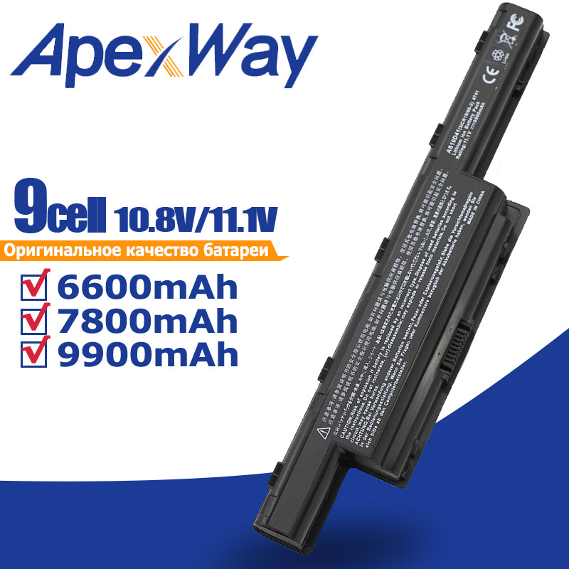 9900MaH AS10G31 Battery For Acer Aspire 5750 5551G  AS10D31 AS10D41 AS10D73 AS10D7E AS10D5E AS10D51 AS10D71 AS10D81 AS10D75