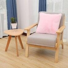 ROWNFUR чехол для подушки с Северными мотивами размером 45*45 см для диван кресло домашний декор для кровати автомобиля розовый высокое качество пушистые Роскошные Подушка Чехол
