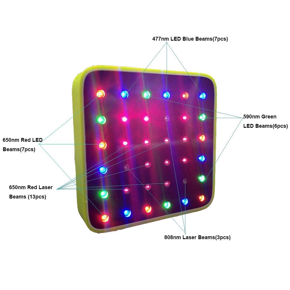 Зеленый светильник, синий светильник, забота о здоровье, облегчение боли в спине, терапия, портативный меридиан, энергетический лазер, элект...