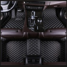 Car-Floor-Foot-Mat Duster Renault Automobile-Carpet Custom