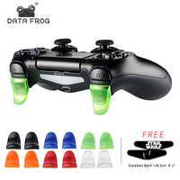DATA FROG 1 pares L2 R2 botones disparador extensores Gamepad Pad para PS4 PlayStation 4/PS4 Delgado/Pro Game Controller Accesorios
