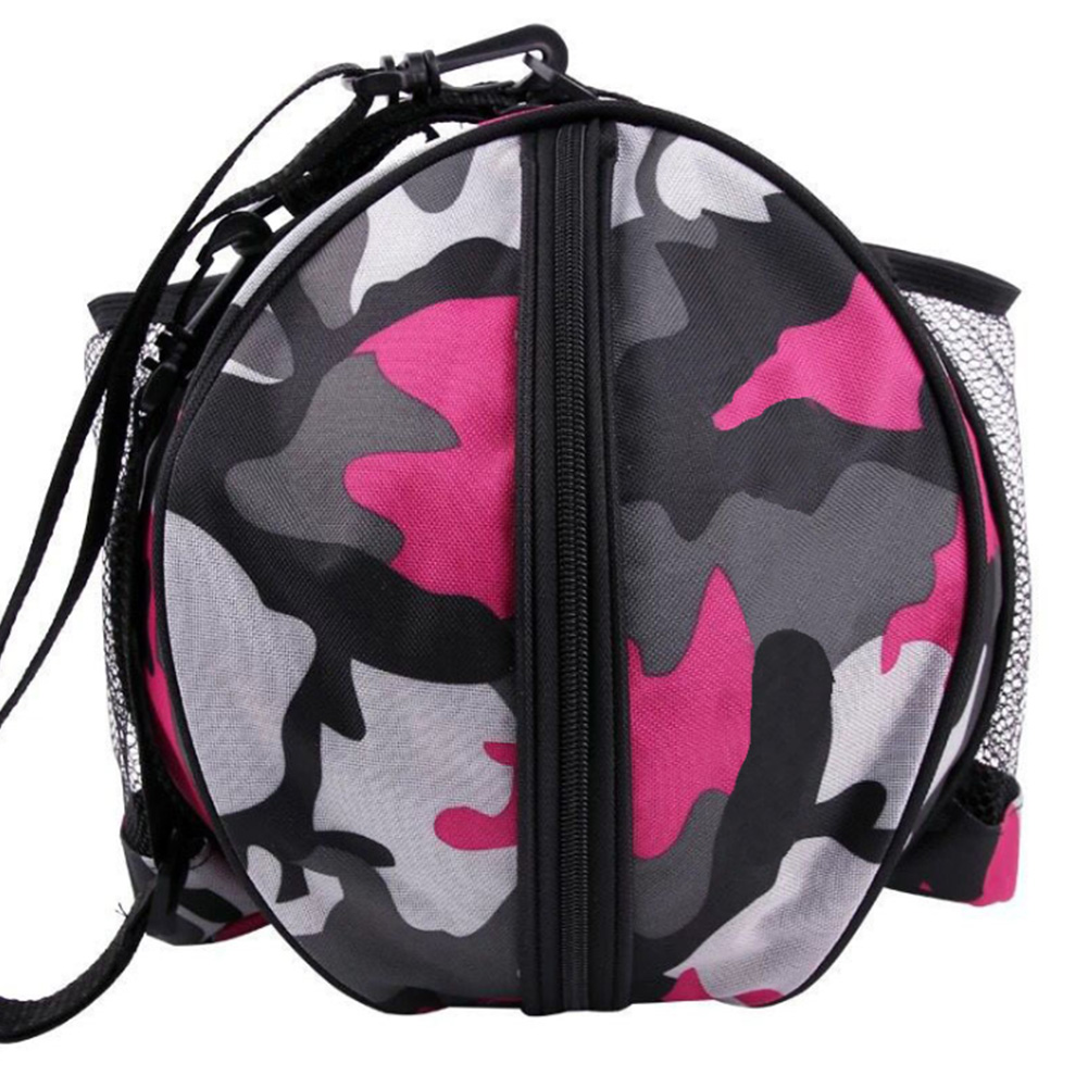 Detachable Strap Handbag Oxford Cloth Basketball Bag Single Shoulder Waterproof Storage Water Bottle Outdoor Sports Accessories