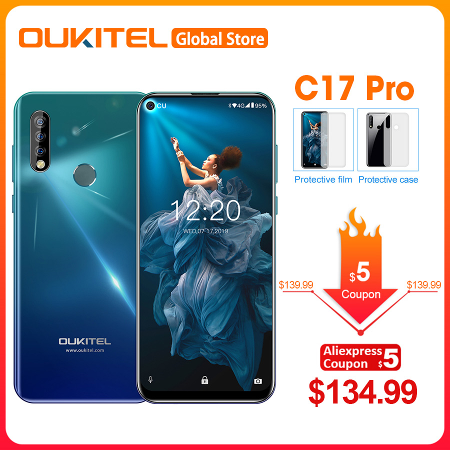 OUKITEL C17 Pro 64GB 2gb LTE Octa Core Fingerprint Recognition 13mp New Mobile-Phone