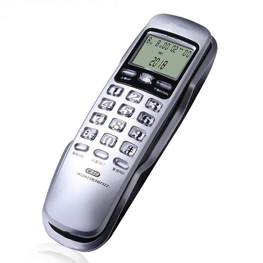 Телефон с проводом Trimline, с определителем вызова, повторным циферблатом, ЖК дисплеем|Телефоны|   | АлиЭкспресс