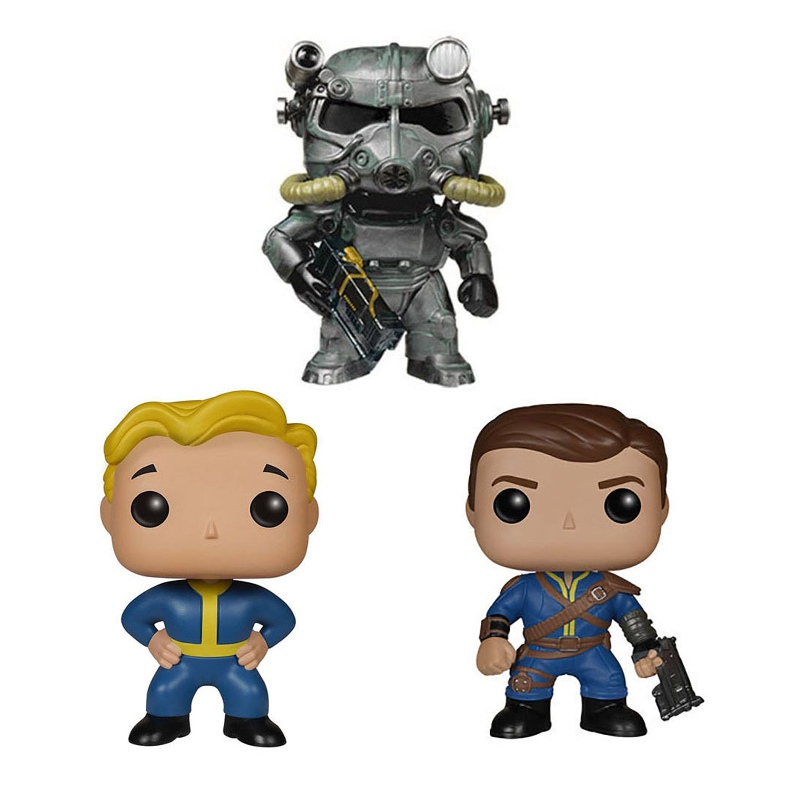 Fallout Lone Wanderer Game Figurines model 10cm PVC model Fall Out 4 Vault Boy & Power Armor Action Figure Toys image