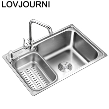 Tarjas Para Cocina Lavello Portable Dissipador Stainless Steel Kitchen Lavabo Cuba Pia Cozinha Fregadero Vegetable Wash Sink