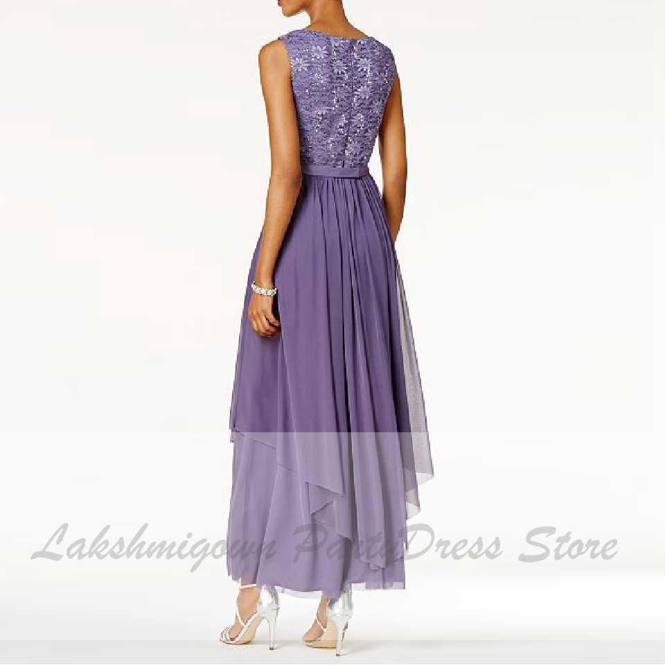 lakshmigown lilac mutter der braut kleider mit spitze jacke