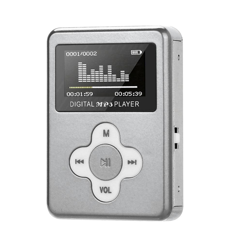 2019 USB Mini MP3 Player LCD Screen Support 32GB Micro SD TF Card SL 10#