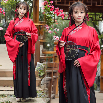 Classical Dance Costume Oriental Hanfu Women Folk Festival Outfit Stage Rave Performance Clothes Wedding Fairy Dress DF1454