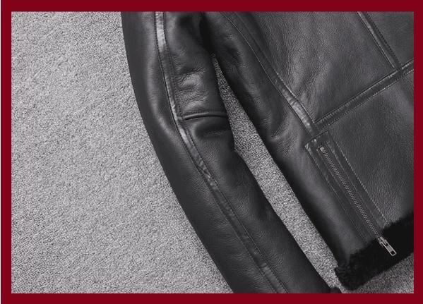 H91601411f13b44c88c30cf3b85480c4fW Free shipping,Sales Winter Sheep fur coat,100% wool Shearling jacket,warm leather sheepskin coat.plus size classic motor style